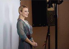 Пелагея. Съёмка для прессы перед началом съёмок Голос 6