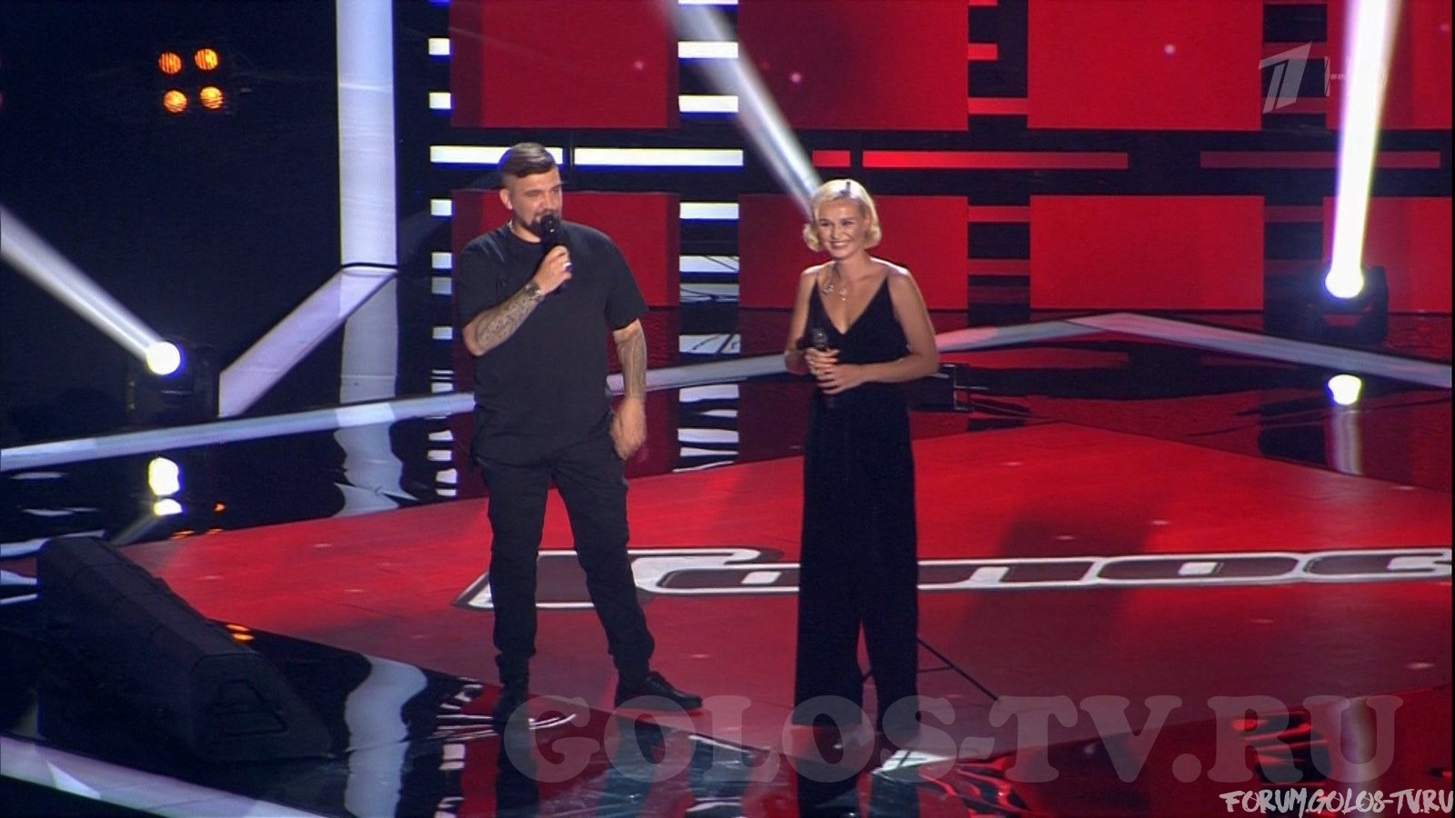 Баста и Полина Гагарина пытались разыграть наставников проекта Голос 6.
