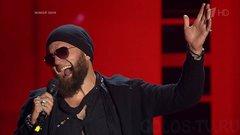 Тимофей Копылов с балканско-цыганской песней поднял настроение наставникам Голос 6.