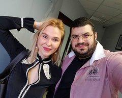 Влад встретился с Пелагеей, пришедшей на репетиции этапа поединков Голос 6.