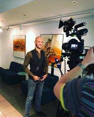 Голос 6. Ладислав Бубнар даёт небольшое интервью в студии Фонограф.