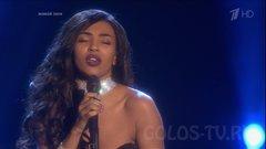 Виктория Олизе исполняет Летний Дождь на этапе Нокаутов проекта Голос 6.