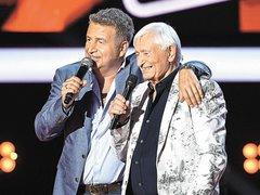 Леонид и Николай Агутины на Голос 60+